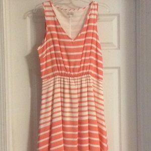Peachy gap dress